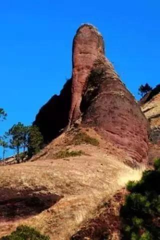 中国7大最像阴茎的山峰,人根峰长的太像(令人脸红)(www.60400.com)