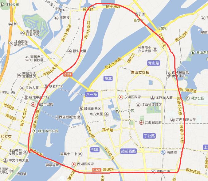 昌北机场连接线方案