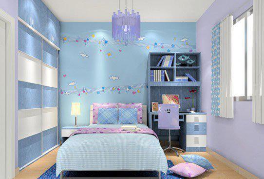 现代收纳小户型儿童房