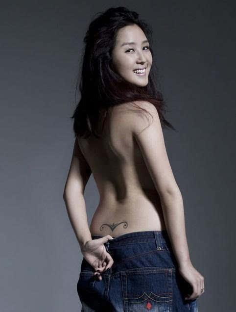 蔡依林的纹身有3处,而不是2处!图片