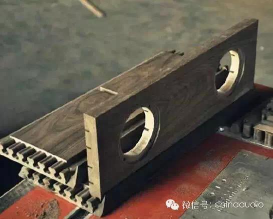图解全实木音箱制作过程
