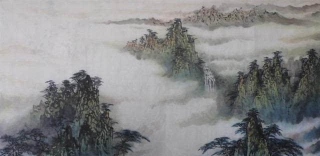 横幅国画(山水篇)欣赏图片