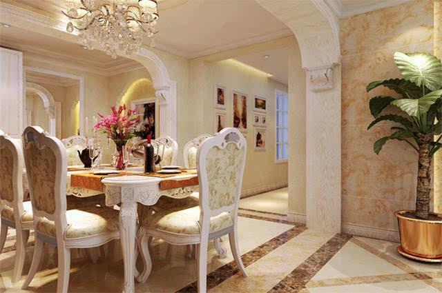 108平米两居室欧式风格装修实景图!