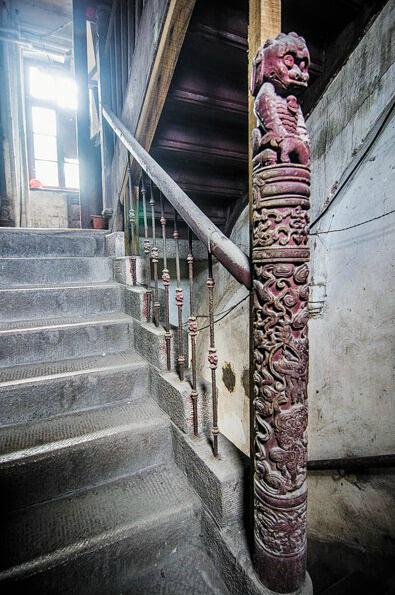楼梯 395_595 竖版 竖屏