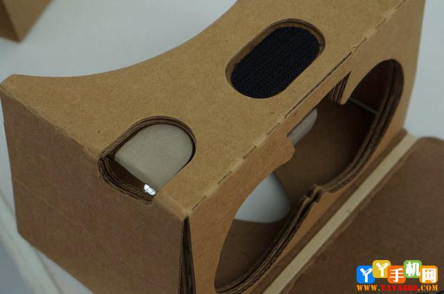 眼镜纸盒!谷歌最廉价VR眼镜Cardboard二代上球阀两片式图纸图片