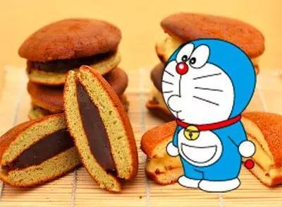 哆啦A梦为什么爱吃铜锣烧图片