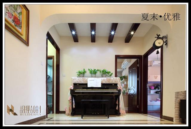 广州业主9万装修58平米美式小居室,装出优雅美式气质!图片