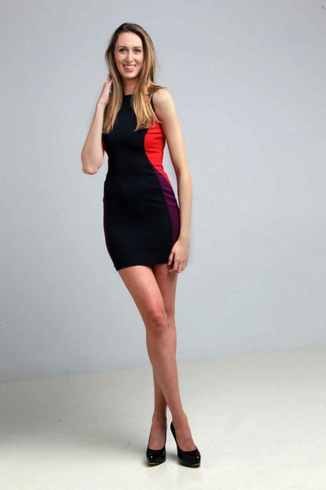 这是目前女子最长腿吉尼斯世界纪录的保持者俄罗斯的