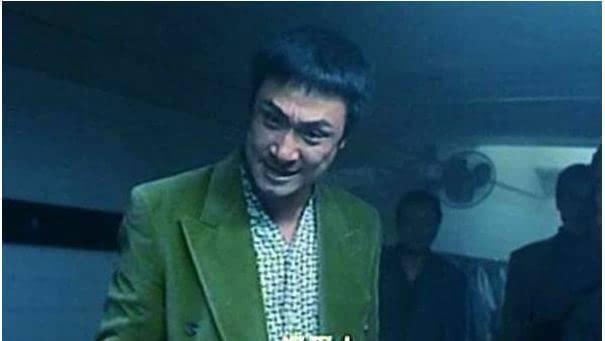 《古惑仔》剧照吴镇宇表情狰狞图片