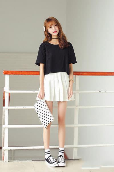 矮个子女生夏季韩版女装搭配技巧