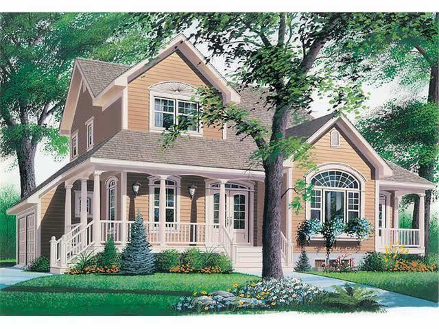 这栋房子占地面积不足200㎡,大小适中,非常适合在农村建,内部采用欧式