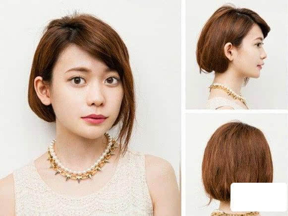 长发变短发的11种扎法,让你清爽过夏天!图片