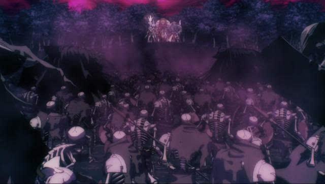 异界之穿越成反派骷髅王 7月新番 Overlord不死者之王 第一话速报
