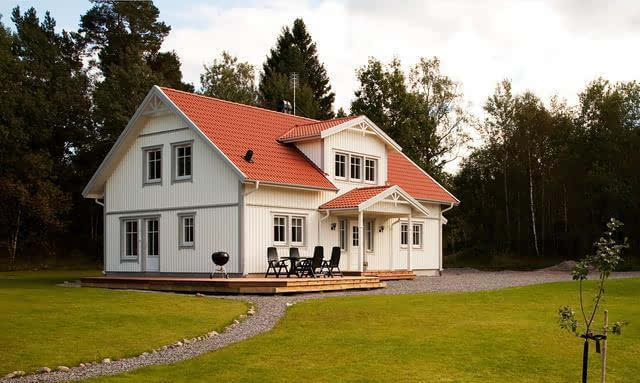 欧式庄园风格农村自建房户型案例