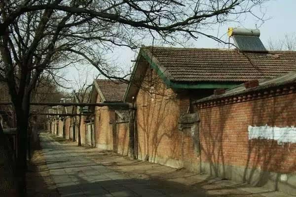 50年代,城市里的住房,北京的排子房也是一个典型.图片