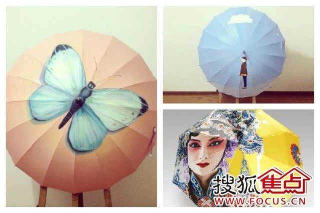 清凉一夏 与伞相伴 滨湖国际周末晴雨伞彩绘diy