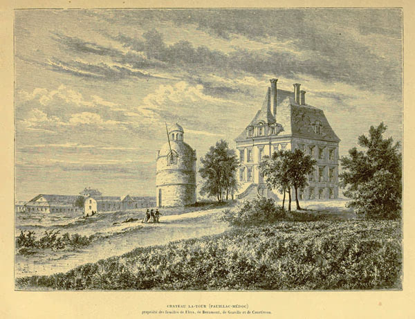 19 世纪的拉菲,拉图和玛歌酒庄居然比现在还美!