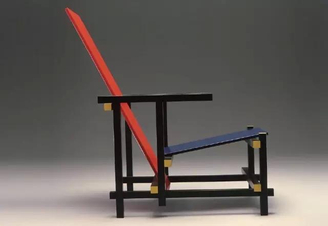 ddot;里特维尔德,红蓝椅