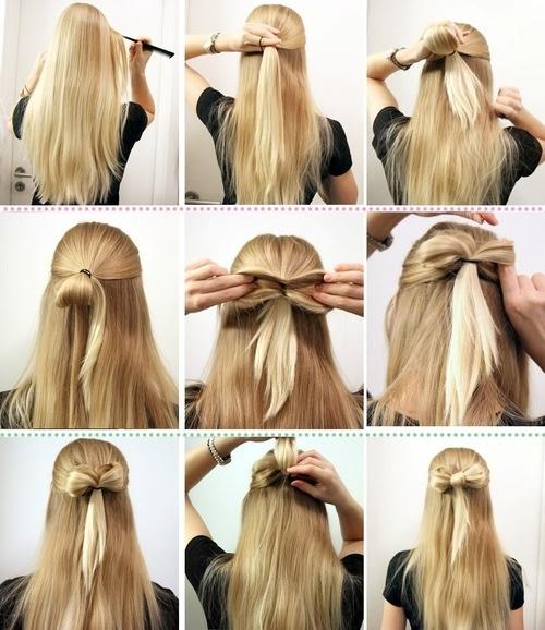 15款实用快手的编发图解,让妹子们一次就上手,天天发型不重样!图片