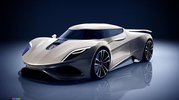 ��;�������C����_柯尼塞格全新概念车——十五岁,他已设计数款概念超跑