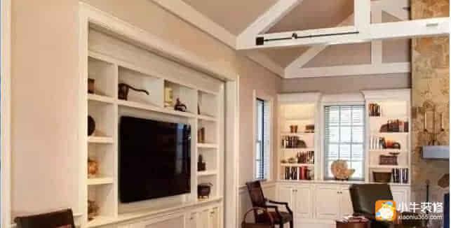 20款最流行电视背景墙·全封闭式的电视柜子,哪里哪里都适合,不怕灰的
