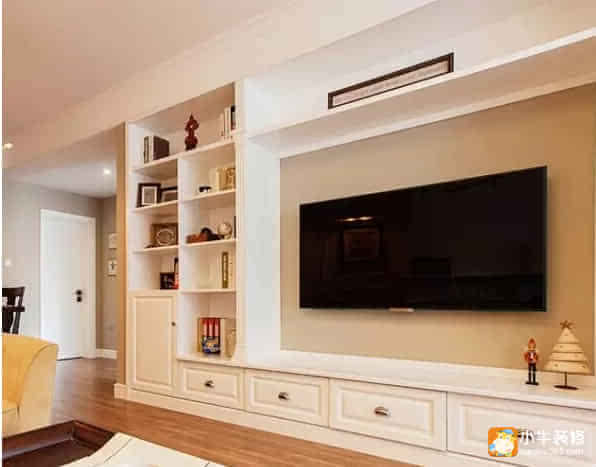 20款最流行电视背景墙·欧式收纳柜,这么多抽屉,你想放啥就放啥.图片