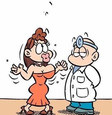 韩国医生卡通图