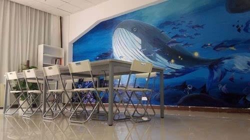 温暖治愈系的鲸鱼
