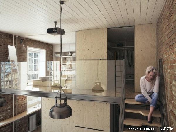 36平米小户型Loft公寓设计