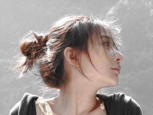 小清新女生唯美可爱治愈系女生图片