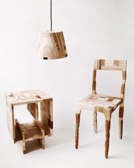 两点透视手绘椅子