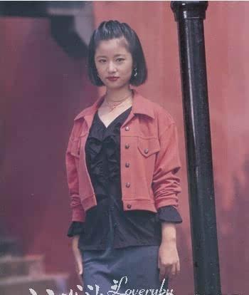 林心如17岁青涩旧照曝光 容貌22年没变化图片