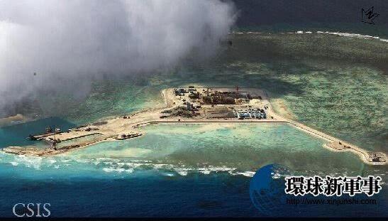 南沙群岛最新填海囹�a_南沙群岛南薰礁填海造岛