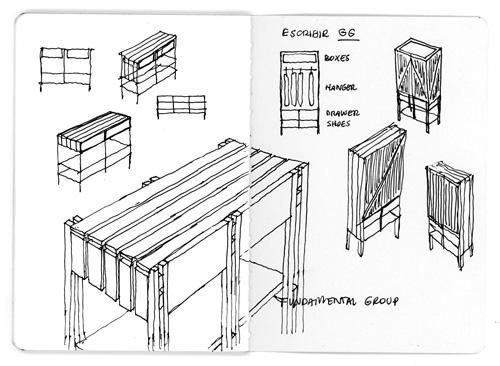 工程图 简笔画 平面图 手绘 线稿 500_366