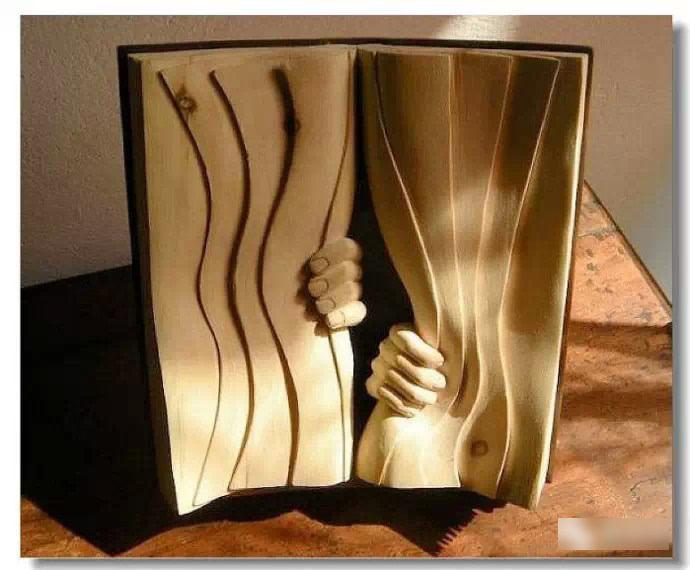 创意木雕作品