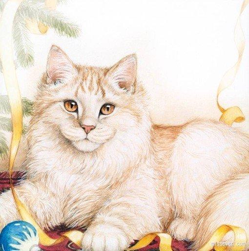 手绘可爱猫咪画集