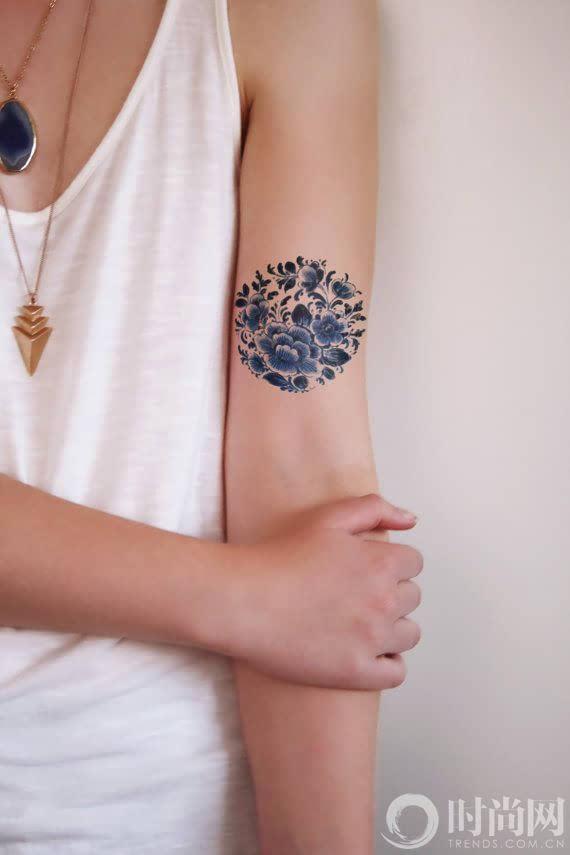露肉的季节怎么能少得了tattoo