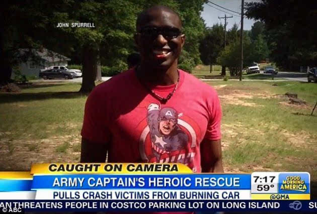 点赞 他才是现实中拯救生命的美国队长
