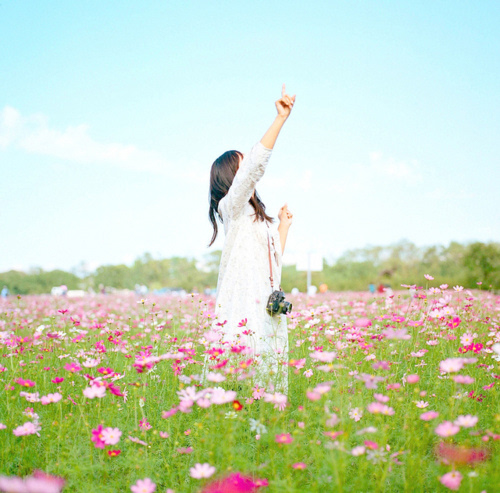唯美情侣清新意境唯美爱情伤感图片