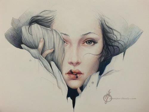 米兰时尚插画手绘图片