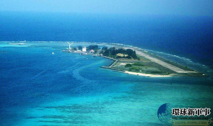 中国巨型工程船改变南海地貌 美济礁村庄已成形