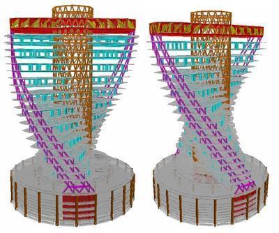 """""""2012年台湾绿建筑黄金级预认证"""" 结构系统3d图 photo -  photo"""