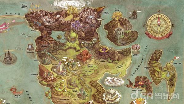 再现完美世界绘师倾力打造百款游戏地图大杂烩