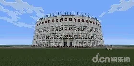 《我的世界手机版》建筑地图分享:古罗马斗兽场
