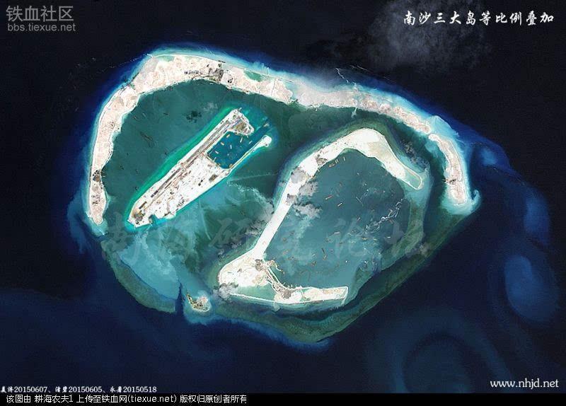 南沙美济礁-南沙美济礁有多大面积?有无建筑?