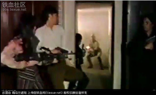 鬼子用电激中国女人