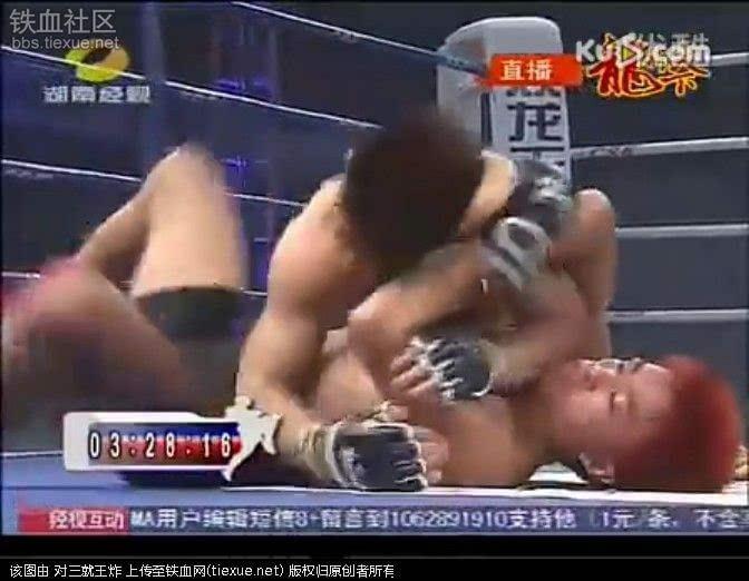 中国猛男暴k日本拳王 美女尖叫好过瘾图