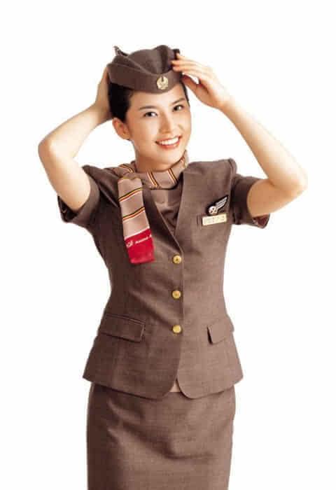 亚空姐照片_最有娱乐精神空姐:韩亚航空