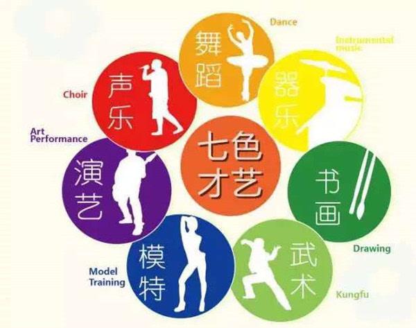 七色才艺展现少年中国梦