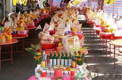 台湾中元节习俗:中元普渡